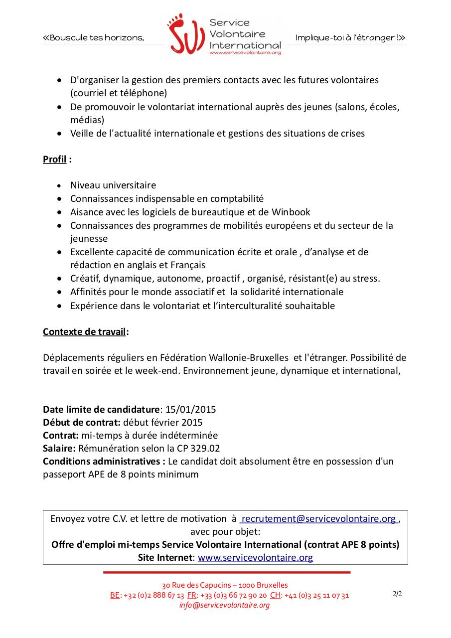 Assistant de projets internationaux - mi-temps.pdf - page 2/2