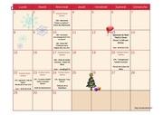 calendrier decembre 2014
