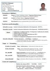 Fichier PDF cv matwal f