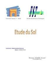 Fichier PDF etude de sol