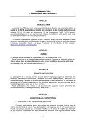 reglement de jeu wbx wondernoel sur facebook 09122014