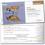 Fichier PDF carton invitation gravelot