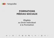 formations medias sociaux neopodia