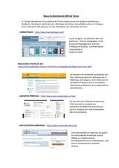 Fichier PDF bases de donnees du cnf de tirana