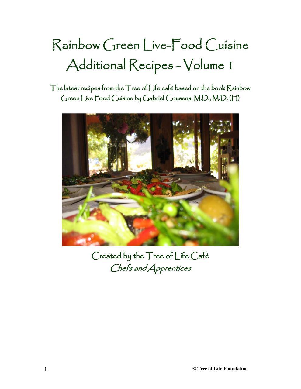 Rainbow green live food cuisine par philip madeley dr gabriel dr gabriel cousens recipespdf page 1121 forumfinder Image collections