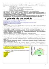 cycle de de produit iut aisne sivert