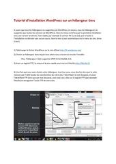 tuto wordpress fr