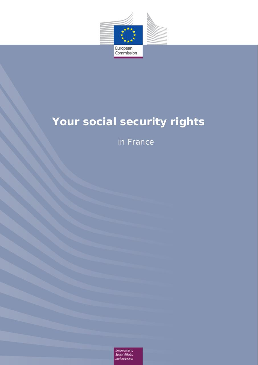 Social security rights in France.pdf - page 1/29