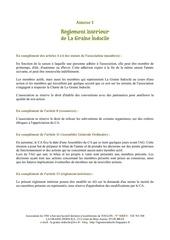 14 10 annexe 1 reglement interieur
