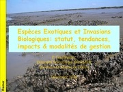 master secc especes invasives 2014 2015