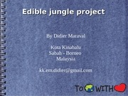 edible jungle project nature share nov2014 d maraval