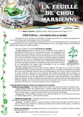 feuille de chou marsienne 1 octobre 2014