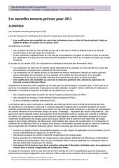 Fichier PDF les nouvelles mesures prevues pour 2015