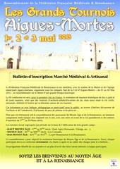 dossier inscription marche medieval