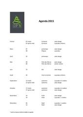 agenda 2015 provisoire