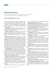 diseased science