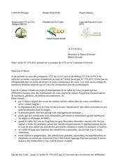 orvault vtt interdit lettre au maire 2012 sans reponse