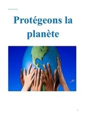 protegeons la planete