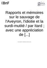 Fichier PDF rapport itard victor de laveyron