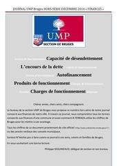 journal ump bruges hors serie decembre 2014