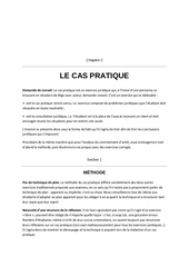 methode cas pratique