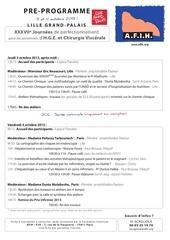 pre programme afih 2013 a