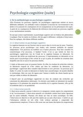 psychologie cognitive 2vetud