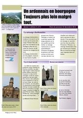un ardennais en bourgogne journal mensuel octobre novembre decembre 2014