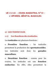 cours magistral n 13