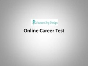 online career test