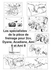 catalogue freinage 2cv
