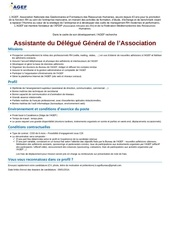 annonce recr ass delegue general agef 26dec14