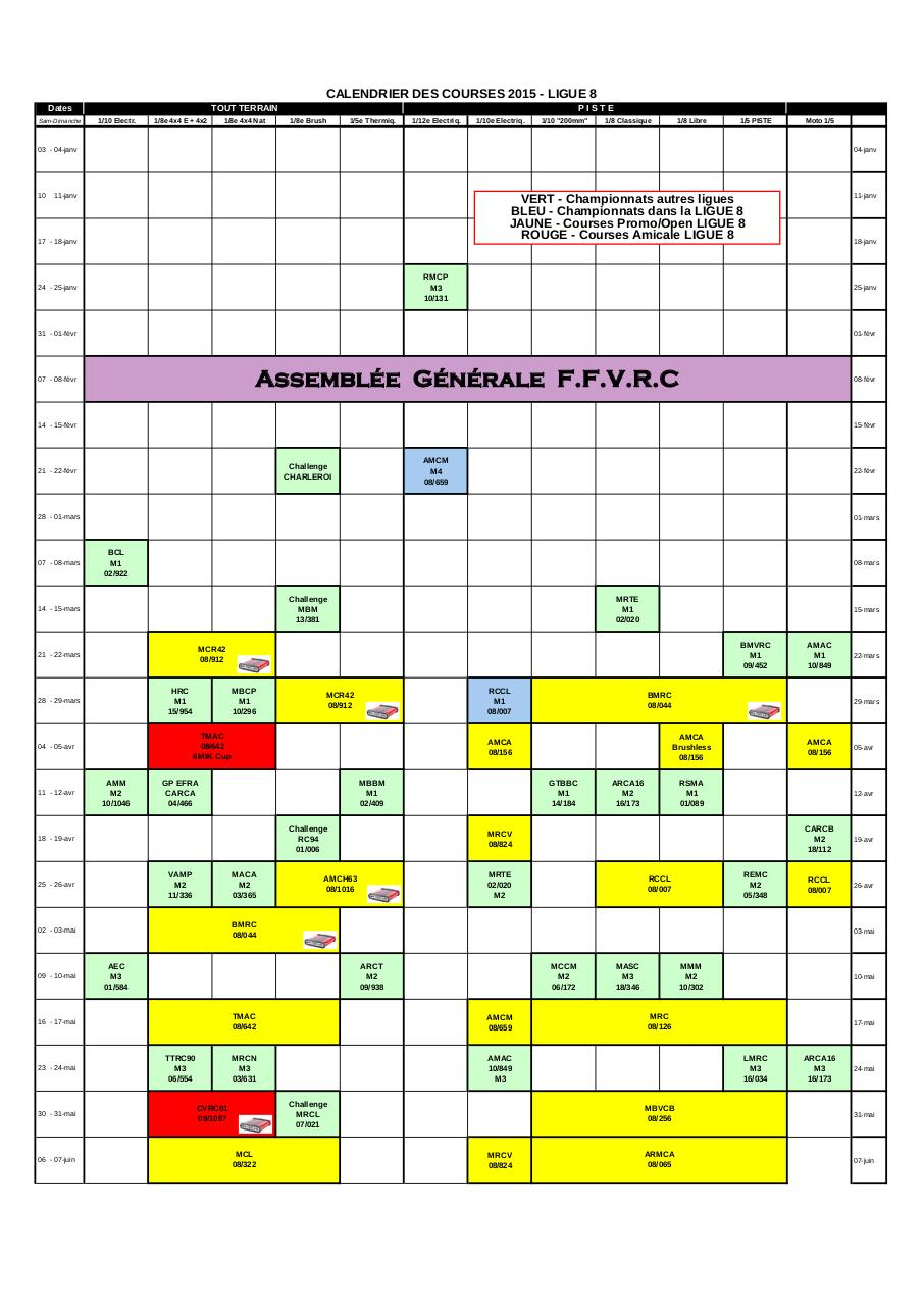 Aperçu du document Calendrier 2015 Ligue 8 Base A0_V3.pdf - page 1/3