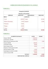 Fichier PDF corrige le bilan