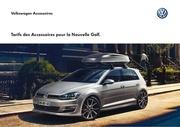 accessoire tarifs golf 7