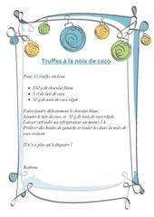 truffes coco