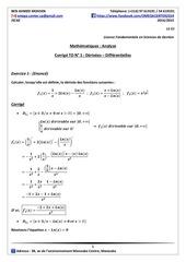 iscae lfg1corrige td n 1derivees differentielles