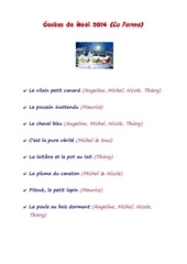 liste contes 2014