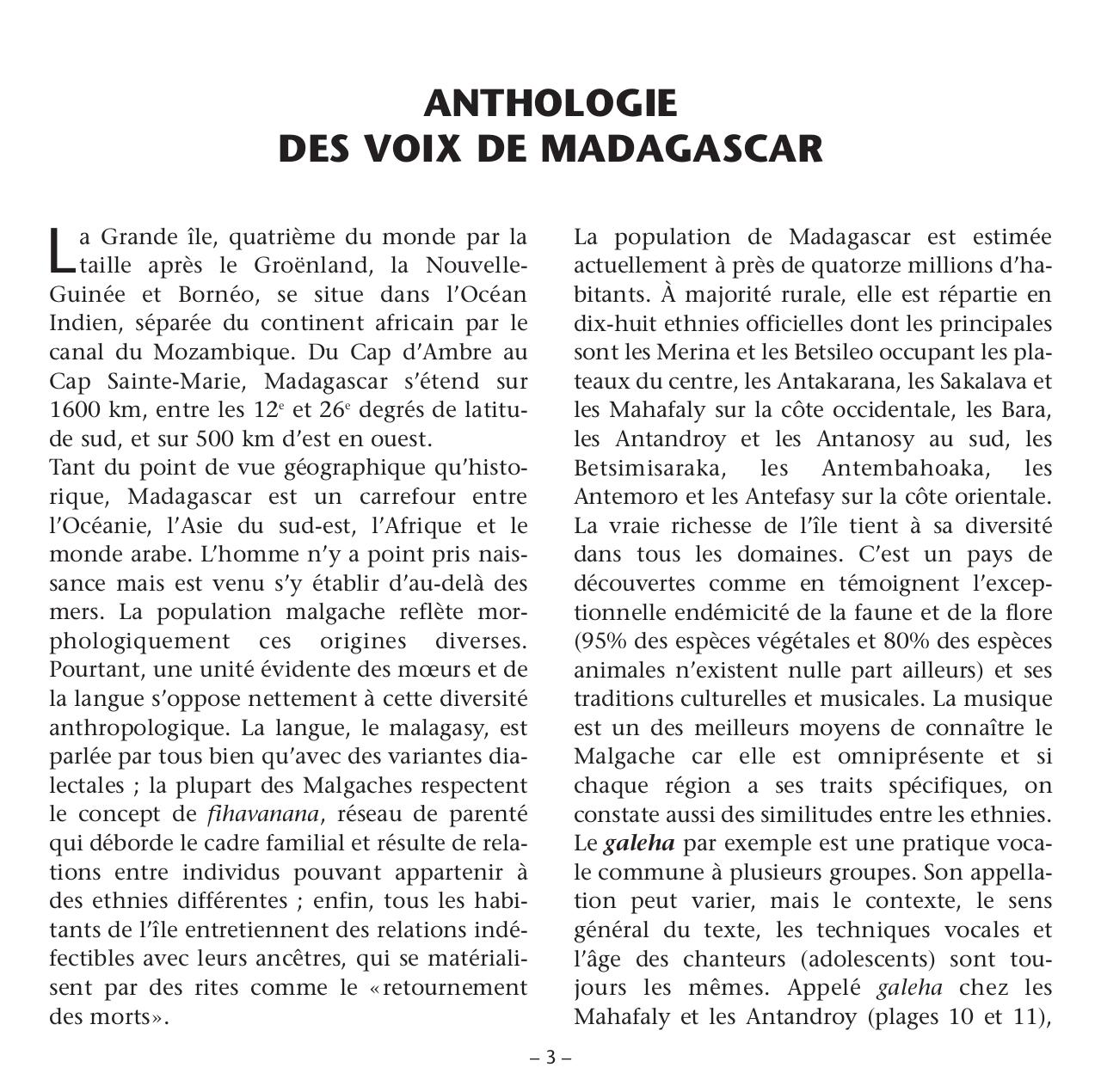 Madagascar Anthologie des Voix - Vocal Anthology.pdf - page 3/24
