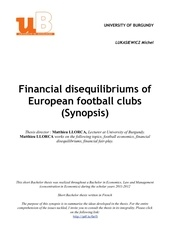 thesis summary financial clubs michel lukasiewicz