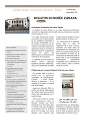 bulletin du musee zabana n 4