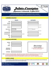 bulletin d inscription rallye d aumale version imprimable