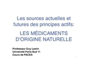 Fichier PDF cours 1 2 medicaments d origine naturelle