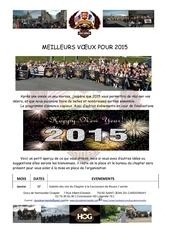 newsletter janvier 2015
