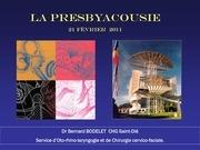 presbyacousie 2011