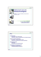 cours 5 6 medicaments issus des biotechnologies