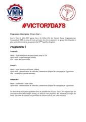 programme et inscription des victory day