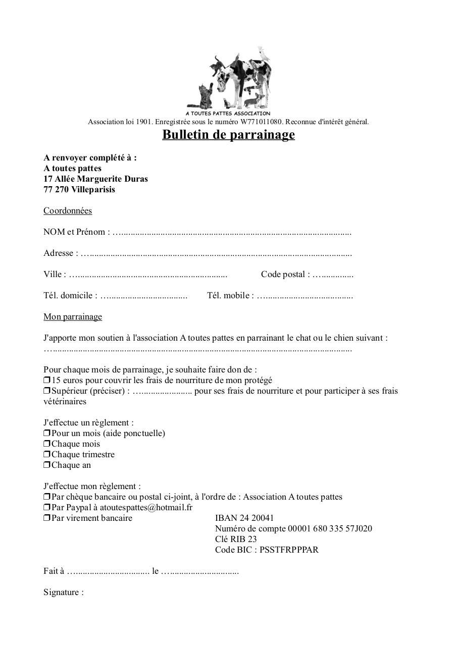 ordre de virement pdf hsbc