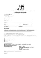 Fichier PDF nouveau bulletin de parrainage