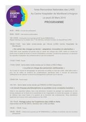 pre programme